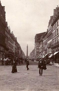 Rue de la Paix Paris circa 1900