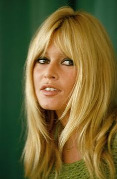 palm trees to portland: Brigitte Bardot= best hair ever.