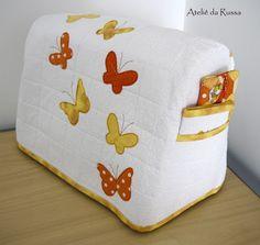 Capa para maquina de costura  Sewing machine case  Чехол для швейной машинки