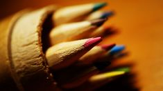 #blur #close up #color #color pencils #colored pencils #colorful #coloured pencils #colourful #macro #macro photo #sharpened #wood