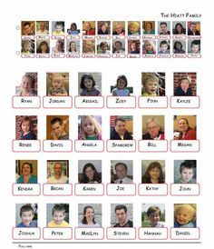 DIY Guess Who Template free printable. Use these free ...