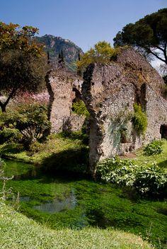 Ninfa gardens, heaven on earth (in Italy)