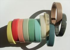 Maeko Jewellery - beautiful colours, shapes and materials used by Glasgow based jewellery designer Nicola Greene