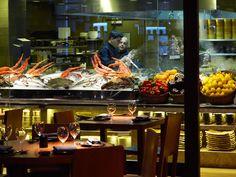 Novikov Restaurant & Bar, Mayfair, London.  Asian cuisine.