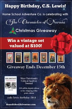 C.S. Lewis books giveaway!