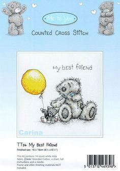 Schematic cross stitch Best Friend 1