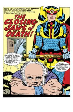 New Gods Mister Miracle and Big Barda with Oberon Comic Book Pages, Comic Book Artists, Comic Book Covers, Comic Artist, Comic Books Art, Thor, Big Barda, Jack Kirby Art, Fourth World