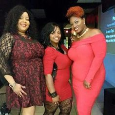 2015 Thick N' Sassy Red Party