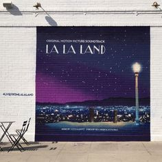 Spotted on Oscar Day in Los Angeles: A La La Land mural on Melrose Avenue. Emma Stone Oscars, The Beautiful And Damned, Damien Chazelle, Oscars 2017, Night Aesthetic, California Love, Photo Diary, Best Actress, Good Movies