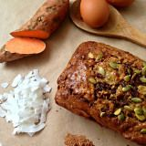 Sweet Potato and Coconut Bread – The Nutrition Guru and The Chef