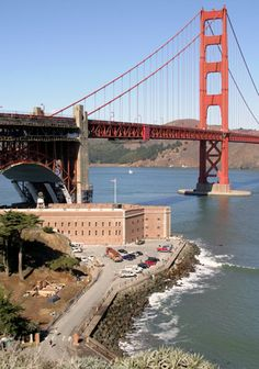 Fort Point & The Golden Gate Bridge ~ Fort Point National Historic Site ~ San Francisco ~ California