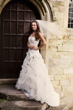 Tailor-Made 'Kadence' Wedding Dress worn by Jade Warner