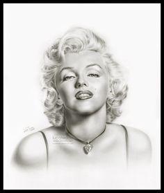 First pinned to Marilyn Monroe Art board, here: http://pinterest.com/fairbanksgrafix/marilyn-monroe-art/ || Marilyn Monroe by ~LucaTedde on deviantART