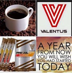 Try our 100% ALL Natural SlimRoast coffee for roughly $3.75/day and watch the lbs melt away. Order now and start on your New Years Resolution today!! It's simply that easy!! In a year from now, you will wish you did :D www.valentusweightloss.valentus.com