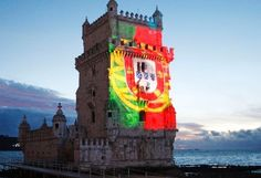 The Party is about to begin in #Lisbon! lets fly the flag
