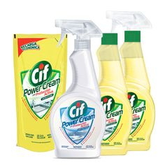 Cif Power Cream Cleaner Packaging Design, Branding Design, Eco Friendly Cleaning Products, Household Cleaners, Laundry Detergent, Girl Stuff, Spray Bottle, Cleaning Supplies, Bath