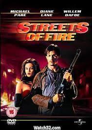 Michael Pare & Diane Lane movie Streets Of Fire