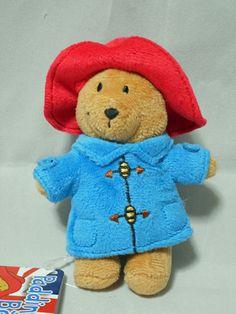 Paddington Bear Ball chain Mascot Plush Japan #Saneiboeki