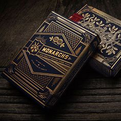 Monarch Playing Cards via Theory 11