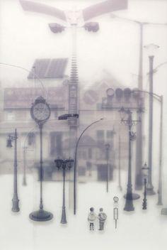 1983, Kam Tin Main Road: Compound Eyes.  Tang Kwok-hin