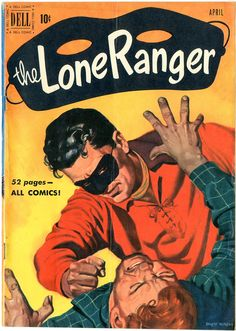 Lone Ranger Painted cover art by Ernest Nordli. Buy Comics, Comic Book Collection, Silver Age Comics, The Lone Ranger, Old Cards, Picture Movie, Cowboy Art, Pulp Art, Pulp Fiction