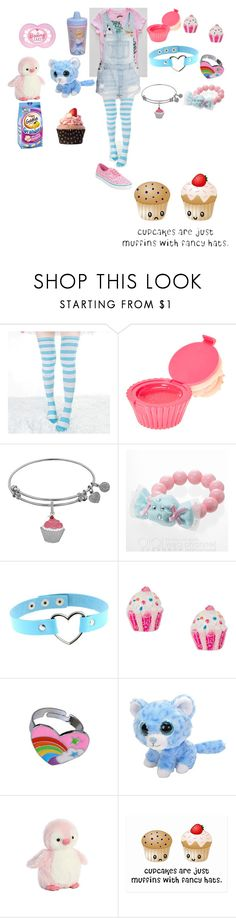 """Untitled #55"" by kawwaii-potato ❤ liked on Polyvore featuring G1, Vans, claire's and Disney"