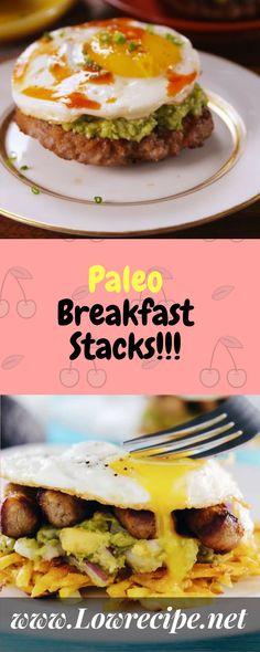 Paleo Breakfast Stacks!!! - Low Recipe