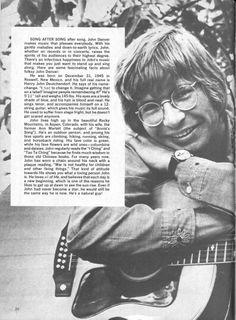 John Denver article (Where? Music Sing, Music Icon, I Miss Him, Love Him, Country Boys, Country Music, Denver Pyle, John Denver, Make Pictures