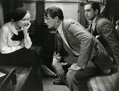 Miriam Hopkins Gary Cooper Fredric March Design For Living. 1933