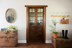 There isn't much I love more than finding a good set of antique doors. Luckily, this season I found lots!