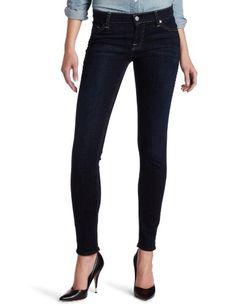 7 For All Mankind Womens The Skinny Jean in Desert Nite, Desert Nite, 27