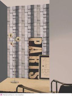 """Bizar, markant, doordringend, futuristisch, fantastisch - de moderne behangcollectie """"Move Your Wall"""" van AS creation is optische kunst."""