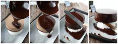 Suklainen Mirror glaze ja appelsiini-suklaakakku - Suklaapossu Candyland, Glaze, Panna Cotta, Mirror, Ethnic Recipes, Food, Healthy, Enamel, Dulce De Leche