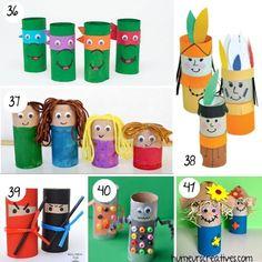80 bricolages pour enfants à faire avec des rouleaux de papier toilette - Montessori, Origami, Crafts For Kids, About Me Blog, Animation, Activities, Education, Deco, Fun
