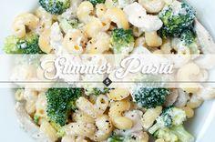 Köstliche Sommerpasta mit Zitronenhähnchen, Brokkoli und Ricotta - SHELIKES - LIFESTYLEBLOG
