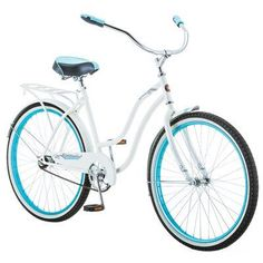 Schwinn Baywood Women's 16 Cruiser Bike, 21-Inch/Small, White - http://www.bicyclestoredirect.com/schwinn-baywood-womens-16-cruiser-bike-21-inchsmall-white/