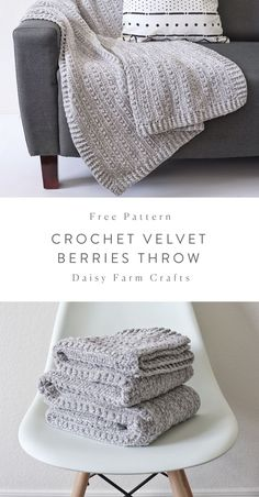 Crochet blanket patterns free 775815473289895708 - Free Pattern – Crochet Velvet Berries Throw Source by Crochet Crafts, Crochet Yarn, Easy Crochet, Crochet Stitches, Crochet Projects, Crochet Mandala, Crochet Ideas, Crochet Throw Pattern, Crochet Free Patterns