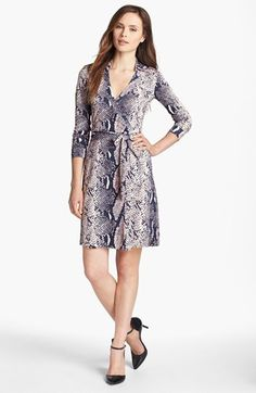 Diane von Furstenberg 'New Jeanne 2' Silk Jersey Wrap Dress available at #Nordstrom