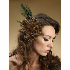 Add a birdcage veil & you've got something pretty damn cool for any event...