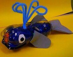 ballena botella reciclaje