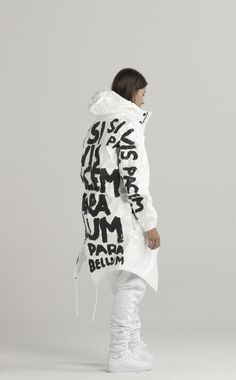 UEG SS15 PARA BELLUM | Collection was inspired by the current state of welfare…