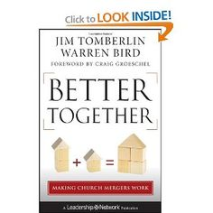 Nathan is currently reading... Better Together: Making Church Mergers Work (Jossey-Bass Leadership Network Series)