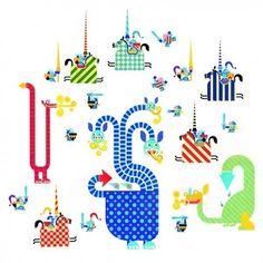 Stickers Enfants Dragons - Djeco