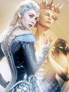 Emily Blunt Plays One Evil Elsa In The Huntsman: Winter's War