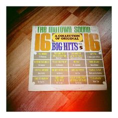 Weekend #vinyl haul (1/4):The Mowtown Sound - A Collection of 16 Big Hits Vol.5
