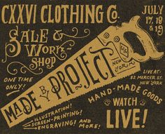 Illustrated hand lettering by Jon Contino.