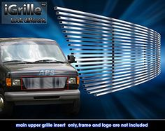 Stainless Steel 304 Billet Grille Grill Custome Fits 1992-2006 Ford Econoline Van - http://www.caraccessoriesonlinemarket.com/stainless-steel-304-billet-grille-grill-custome-fits-1992-2006-ford-econoline-van/  #19922006, #Billet, #Custome, #Econoline, #Fits, #Ford, #Grill, #Grille, #Stainless, #Steel #Exterior, #Grilles-Grille-Guards, #Grilles-Grille-Guards