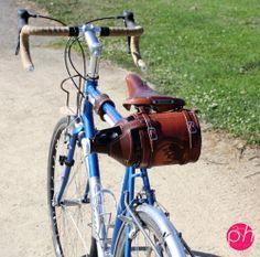 Custom Bike Mounted Leather Growler Cover/Holder - The Goods