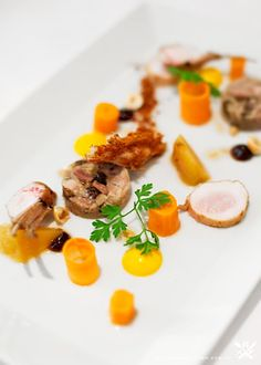 Assiette - Surry Hills, Sydney CBD {Macleay Valley Rabbit Terrain /Loin with Pickled Baby Carrots and Gingerbread Crumbles}