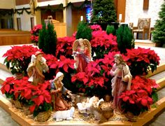 Holy Spirit Church Christmas 2013 More DecorationsEaster Altar